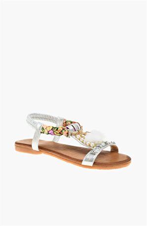 DIVARESE Gümüş Sandalet