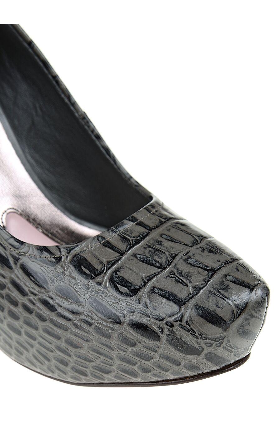 Krokodil Baskılı Platform Ayakkabı