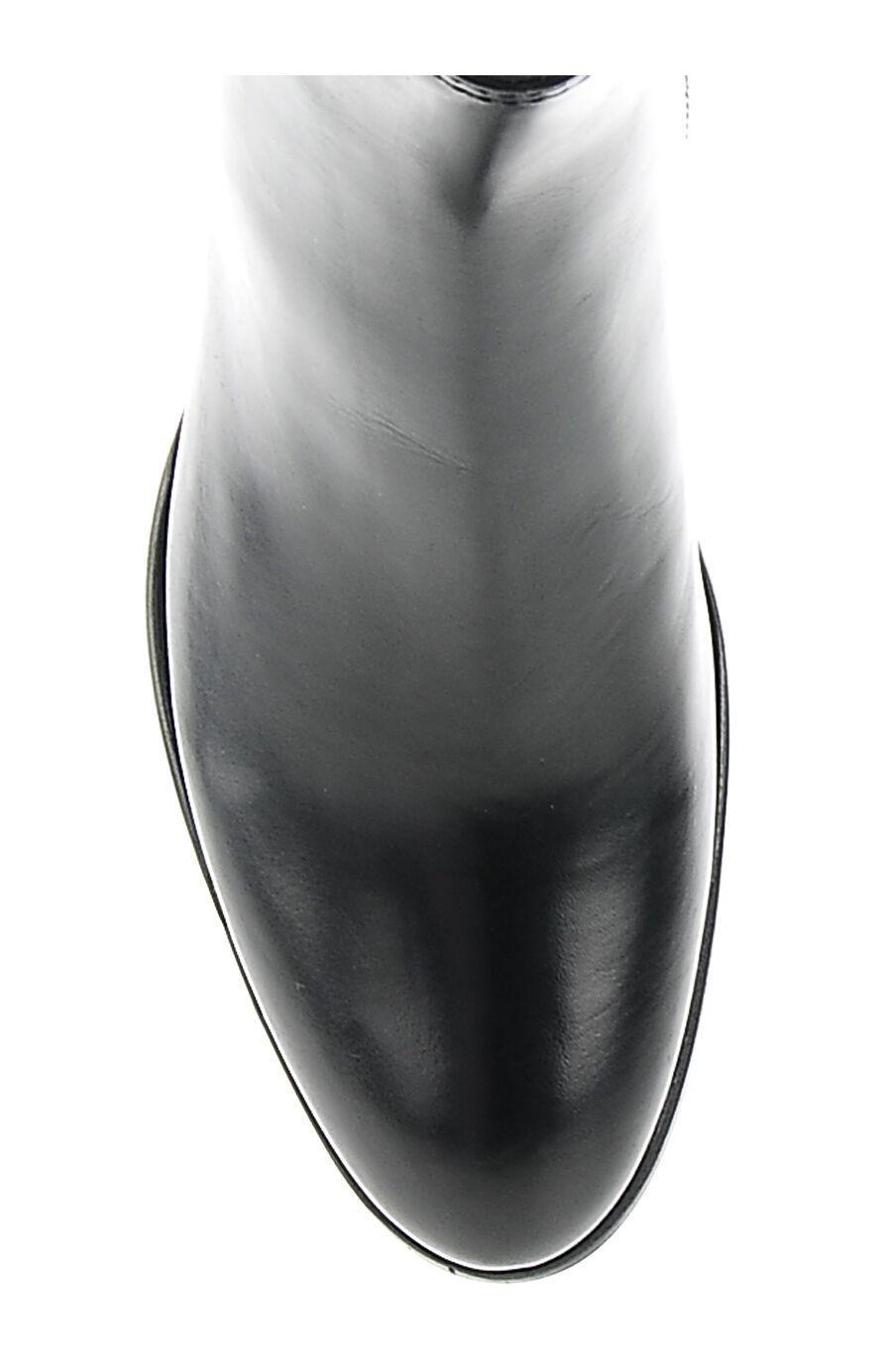Luca Grossi Fermuarlı Deri Bot