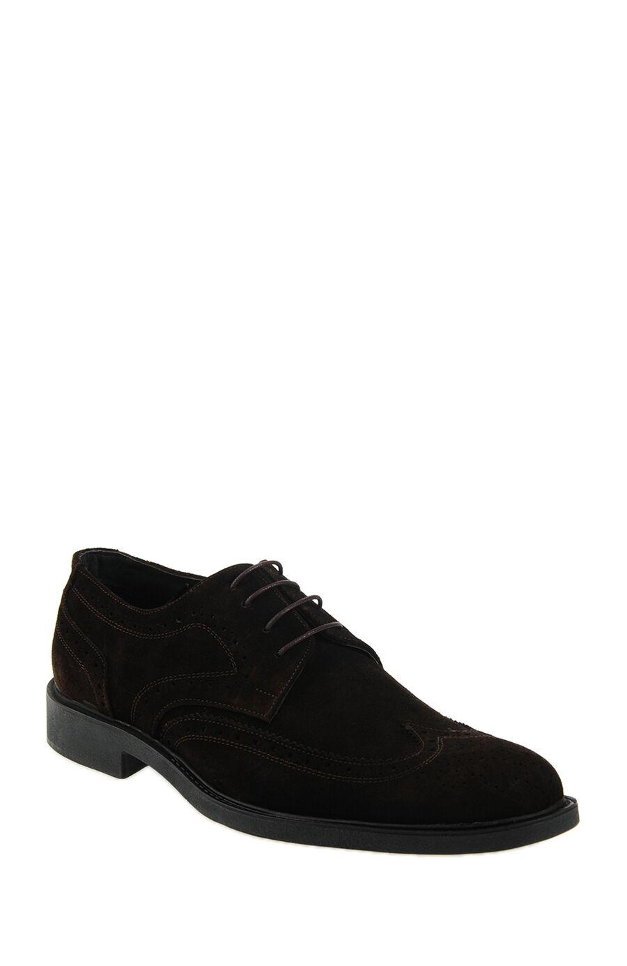 Zımbalı Tasarım Süet Ayakkabı