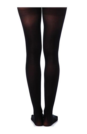 Siyah Ince Külotlu Çorap