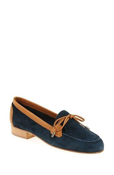 Çift Renkli Süet Ayakkabı