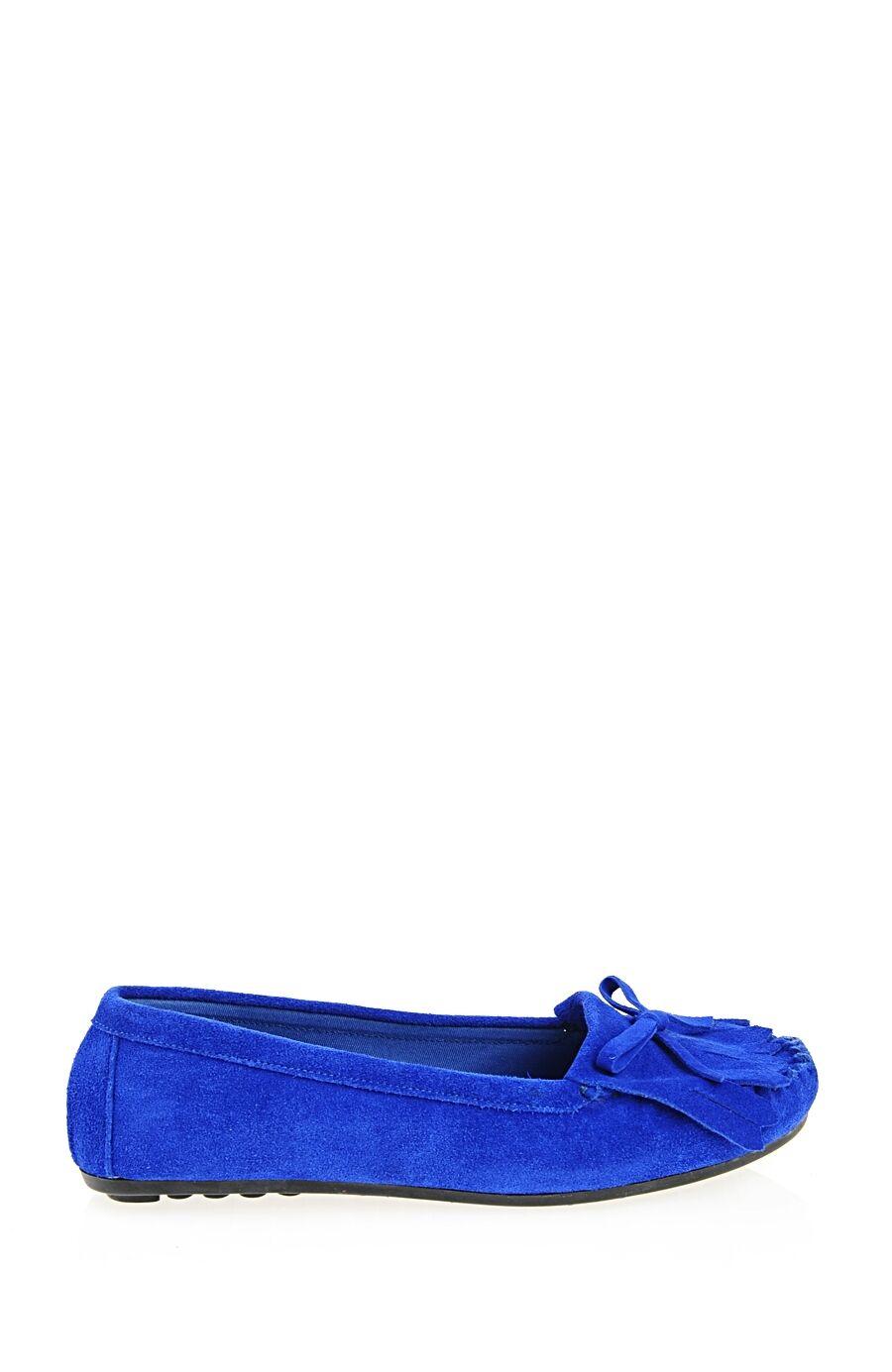 Saks Mavisi Süet Ayakkabı