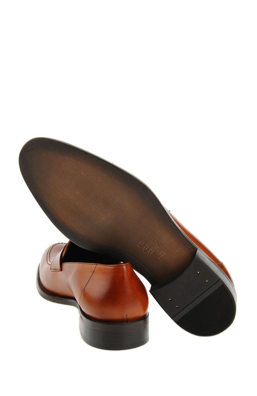 Taba Rengi Bantlı Loafer