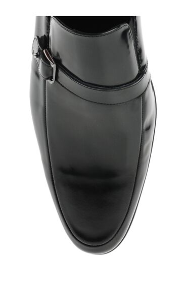Bantlı Siyah Loafer