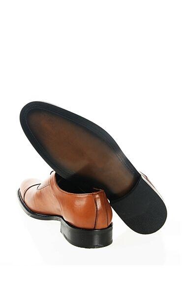 Taba Rengi Deri Ayakkabı