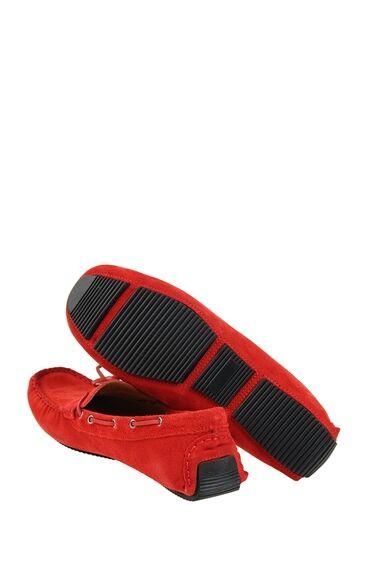 Kırmızı Süet Loafer