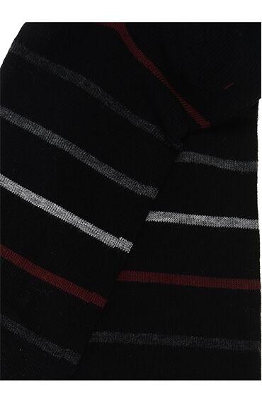 Çizgili Siyah Çorap