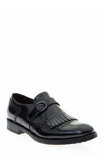 Siyah Rugan Ayakkabı Divarese