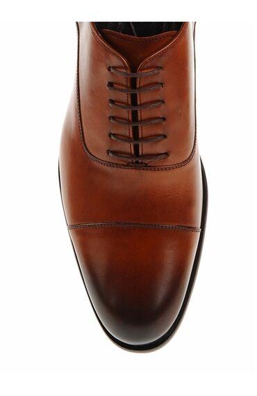 Taba Rengi Bağcıklı Ayakkabı