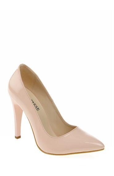 Pudra Rugan Stiletto Ayakkabı