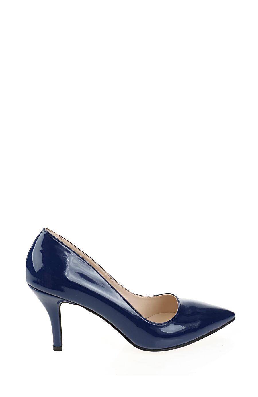 Topuklu Saks Mavi Ayakkabı