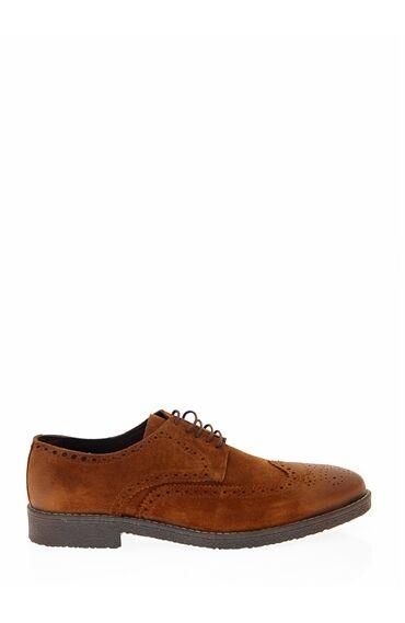Taba Brogue Ayakkabı