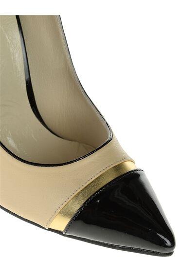 Çift Renli Topuklu Ayakkabı
