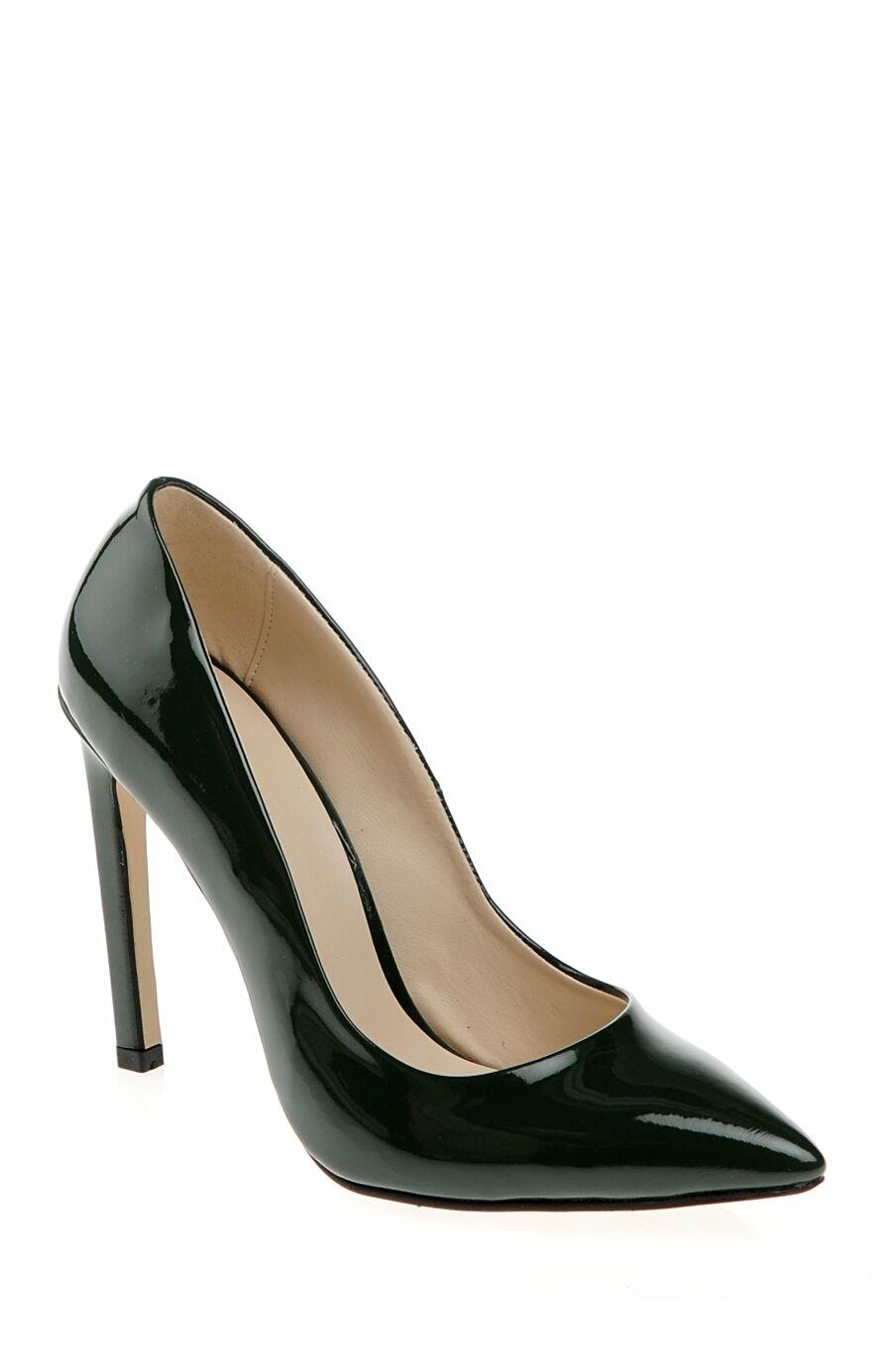 Yağ Yeşili Topuklu Ayakkabı