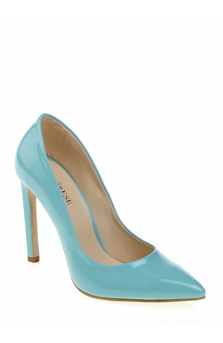 Açık Mavi Topuklu Ayakkabı