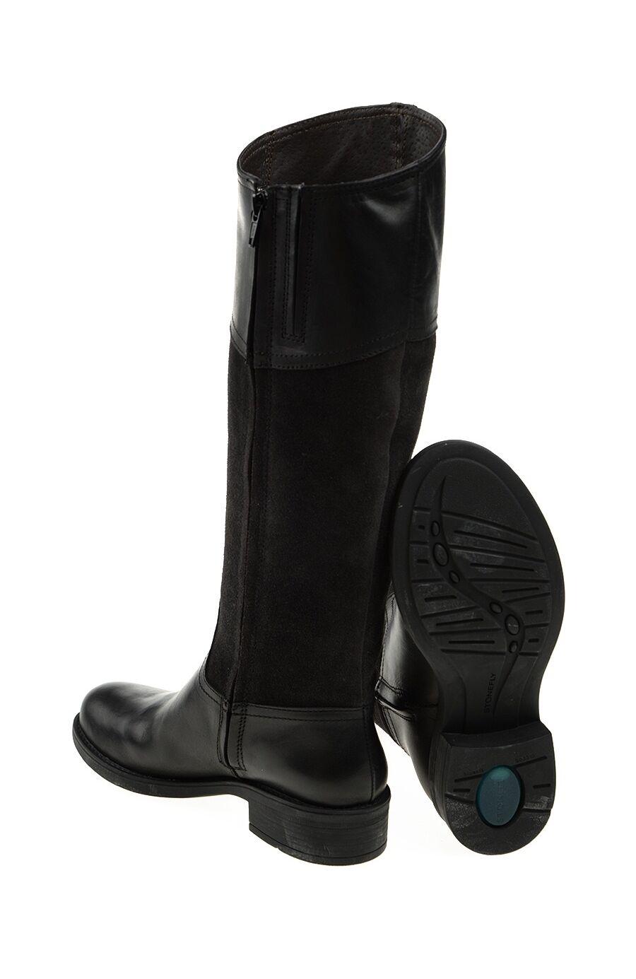 Örgü Detaylı Siyah Çizme