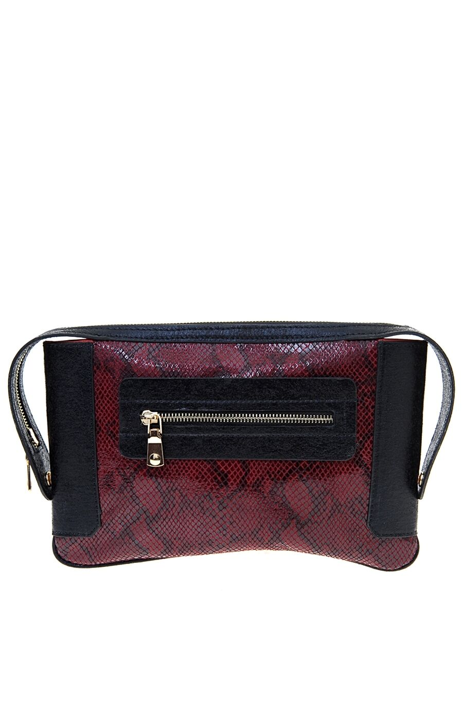 Bordo Clutch Çanta