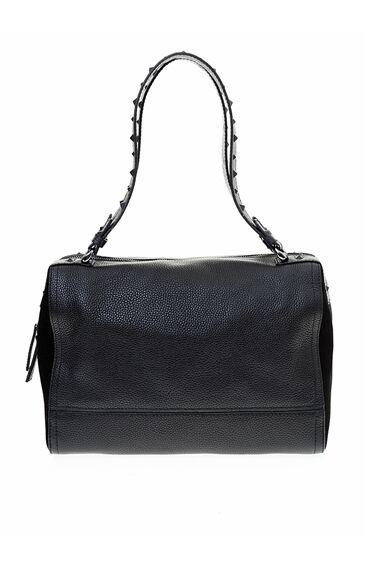 Zımbalı Siyah Çanta