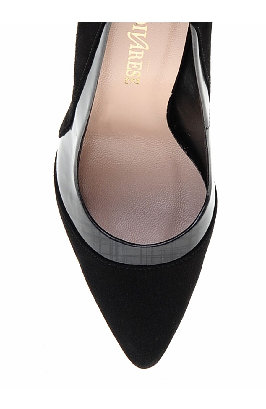 Siyah Süet Stiletto Ayakkabı