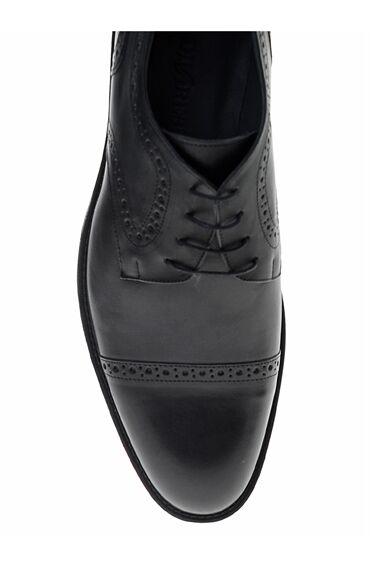 Siyah Derby Ayakkabı