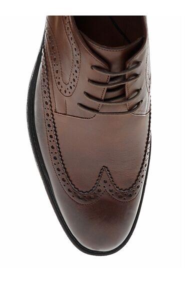 Kahverengi Brogue Ayakkabı