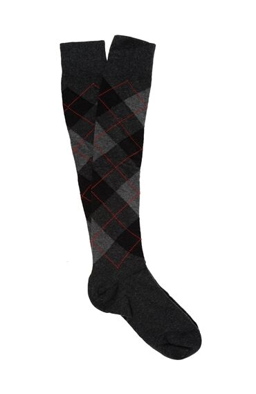 Uzun Antrasit Çorap
