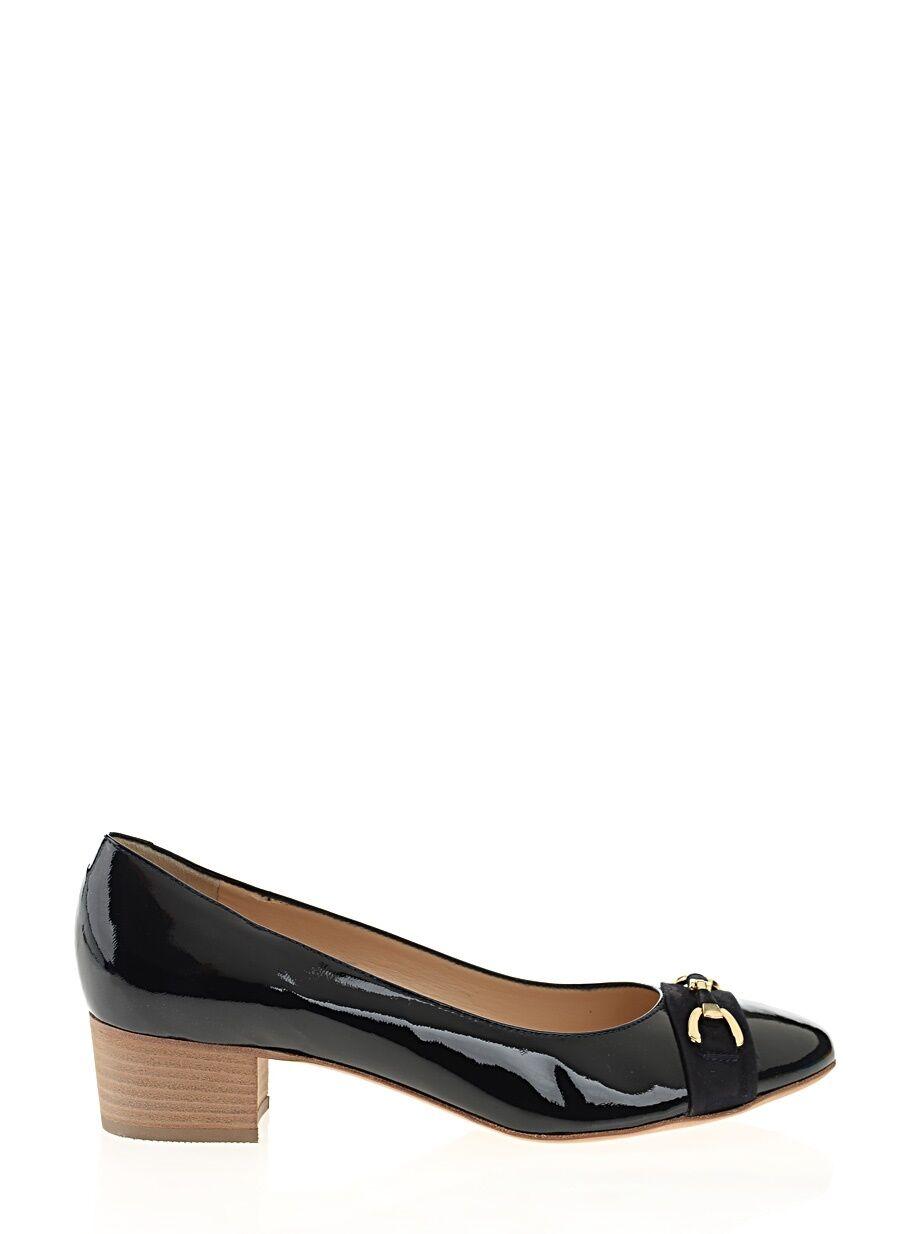 Rugan Lacivert Ayakkabı