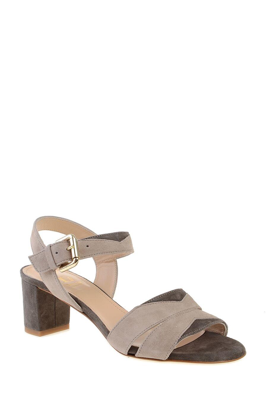 Kahverengi Bantlı Süet Ayakkabı