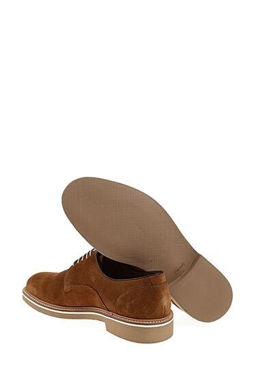 Bağcıklı Taba Süet Ayakkabı
