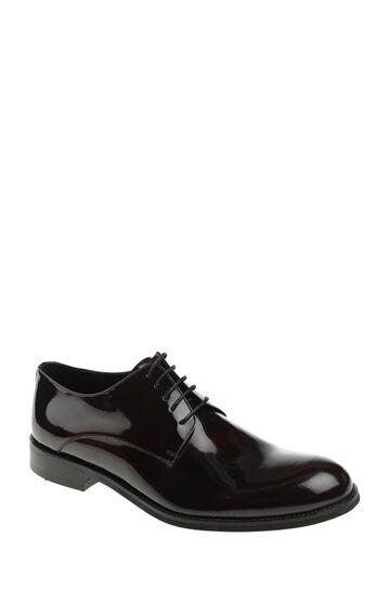 Bağcıklı Bordo Rugan Ayakkabı Divarese