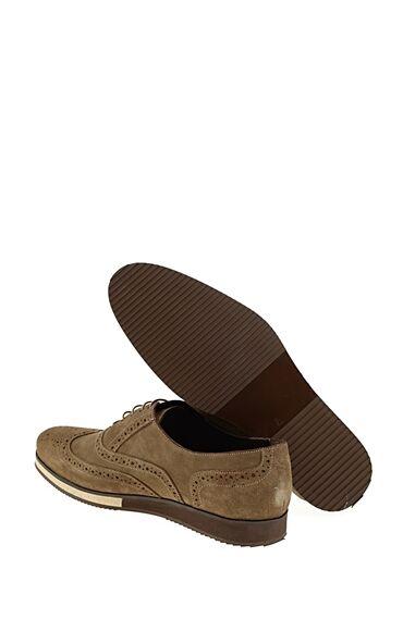 Bağcıklı Vizon Süet Ayakkabı