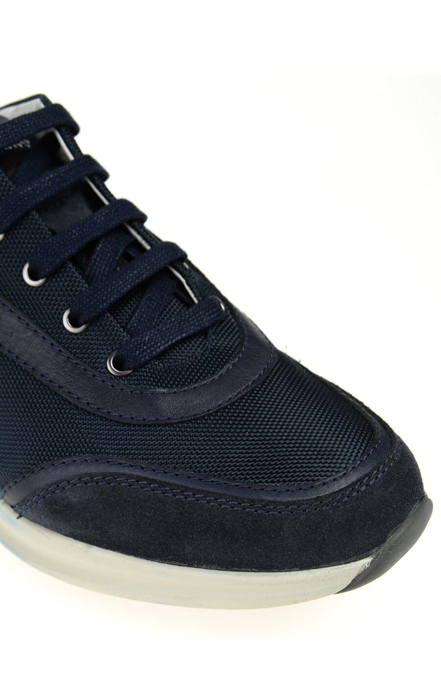 Bağcıklı Lacivert Ayakkabı