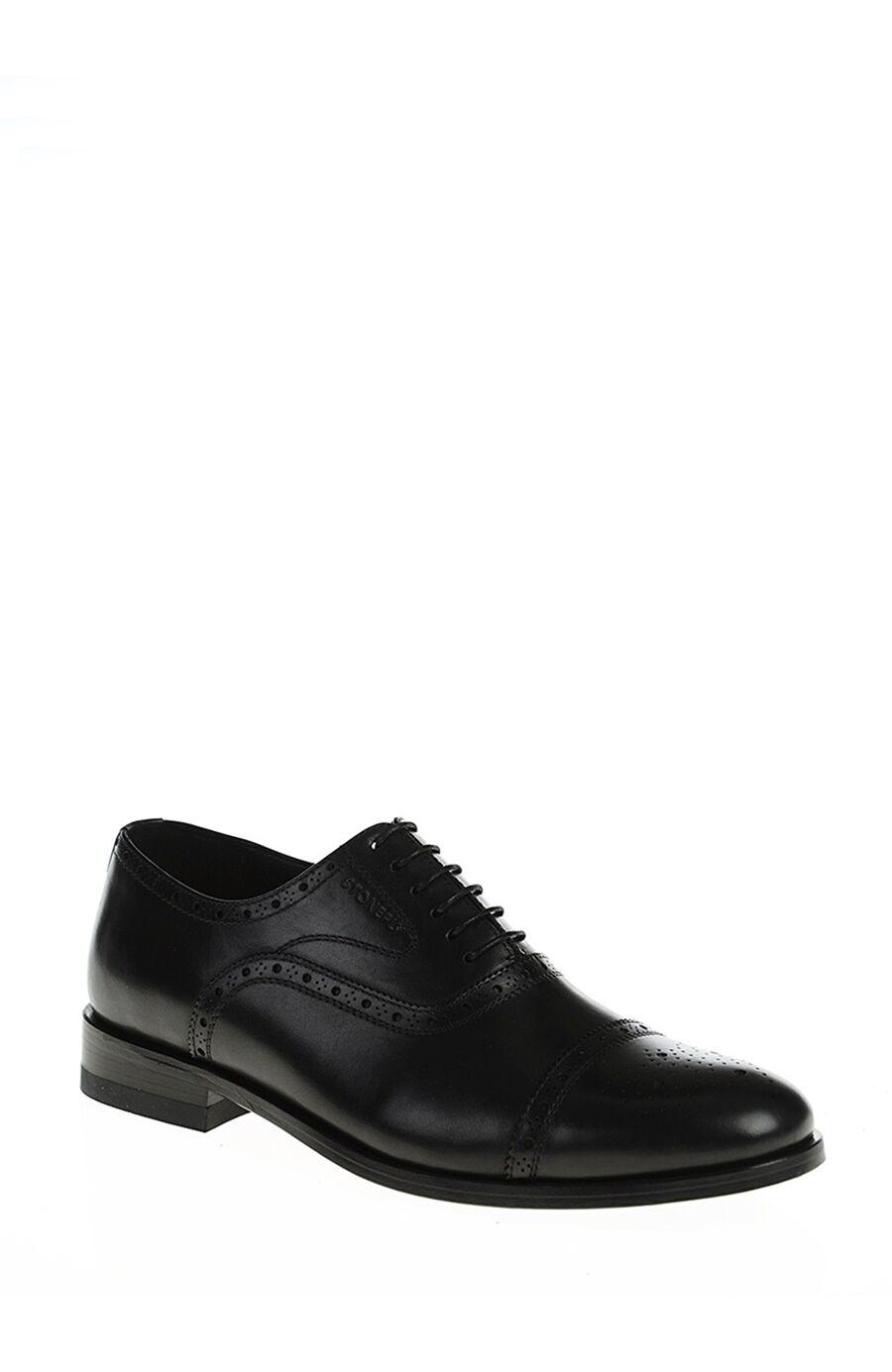 Stonefly Bağcıklı Siyah Ayakkabı