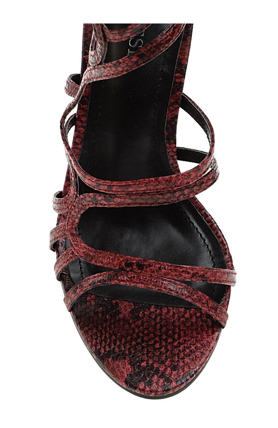 Topuklu Kırmızı Abiye Ayakkabı