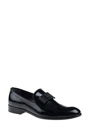Siyah Rugan Loafer Ayakkabı