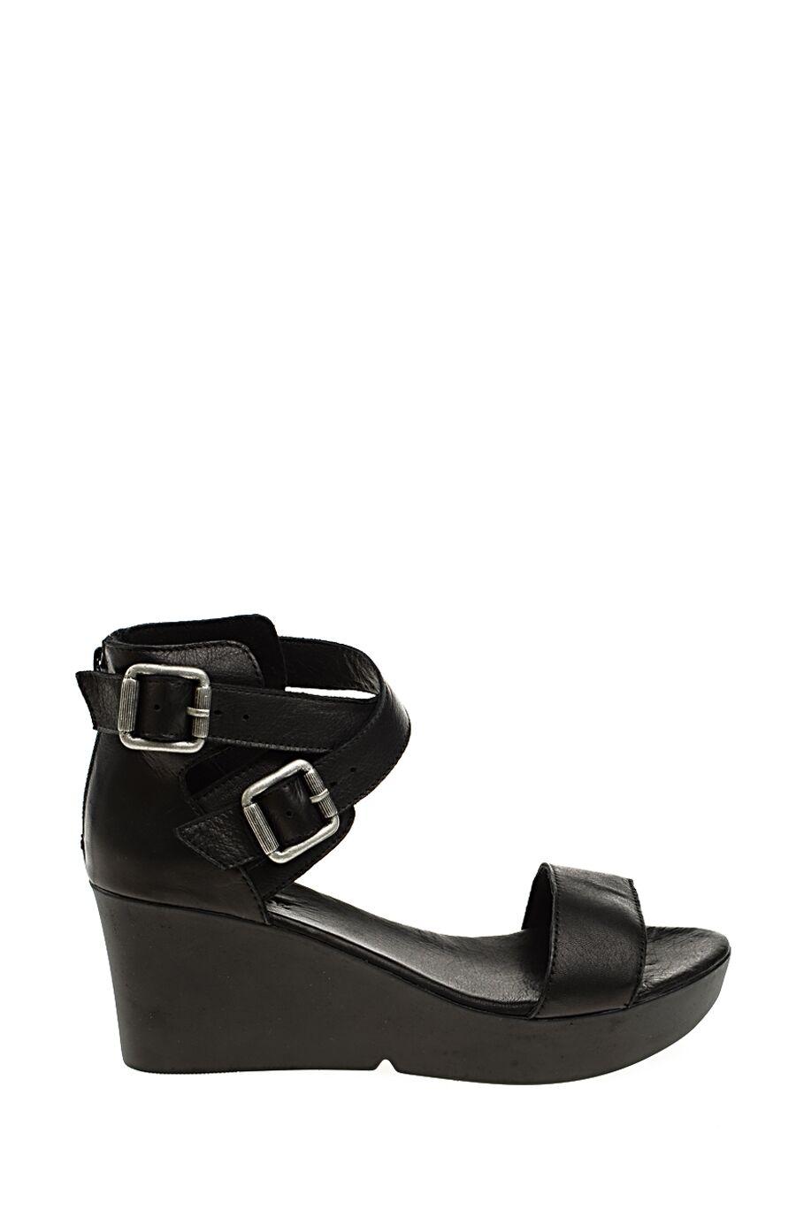 Topuklulu Siyah Sandalet