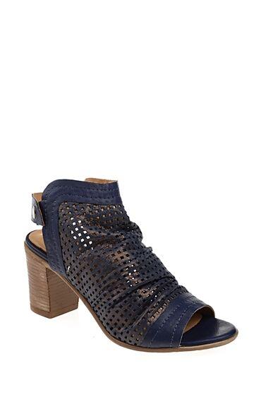 Topuklu Lacivert Ayakkabı