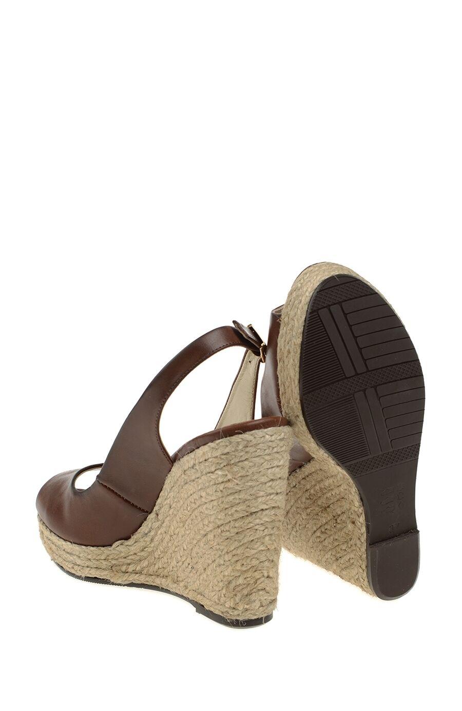Taba Topuklu Ayakkabı