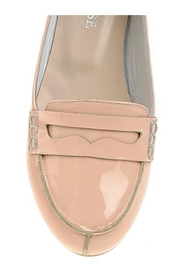 Pudra Rengi Loafer Ayakkabı