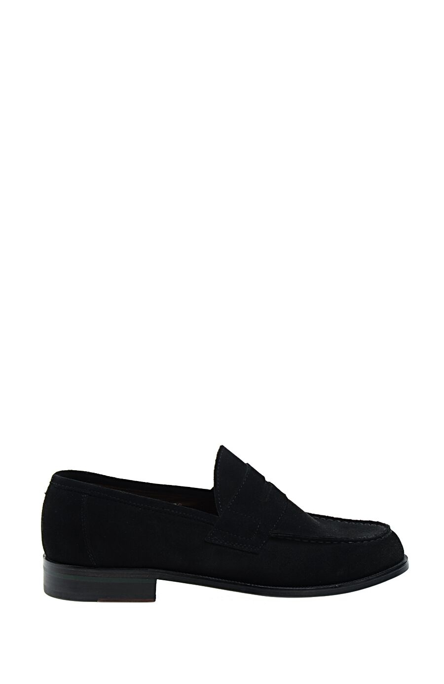 Siyah Süet Loafer Ayakkabı