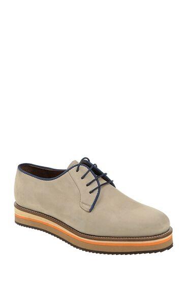 Bağcıklı Bej Ayakkabı