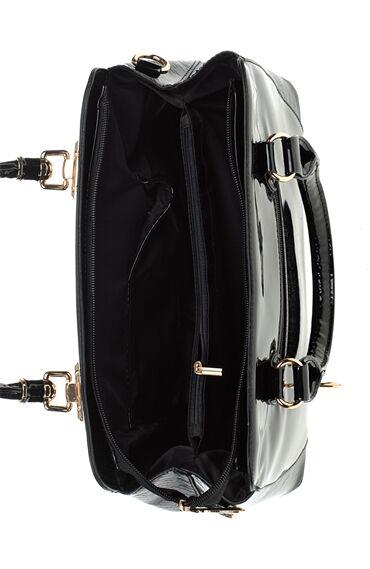 Saplı Siyah Çanta