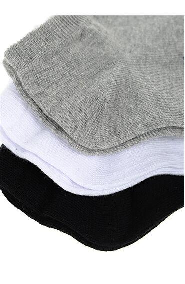 3 Renk Patik Çorap