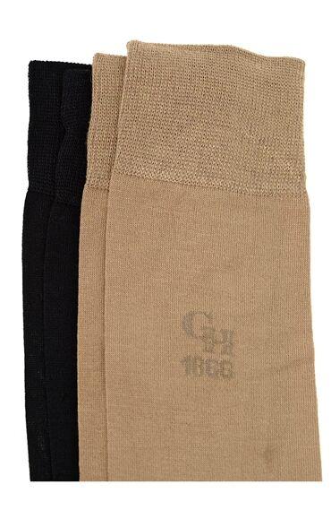 Bamboo Bej Çorap