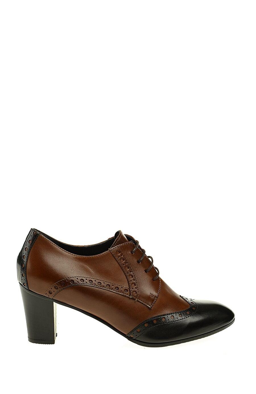 Zımba Detaylı Deri Siyah Ayakkabı