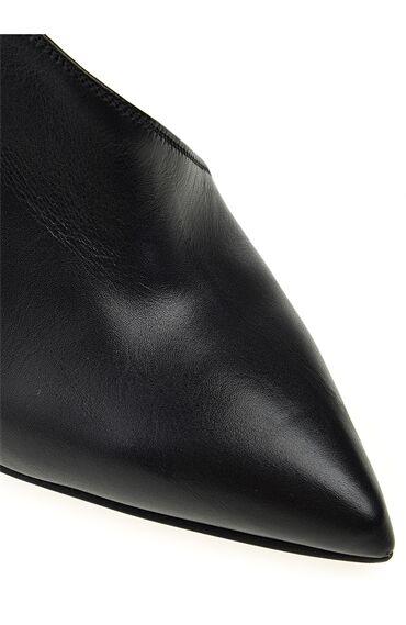 Siyah Topuklu Bootie
