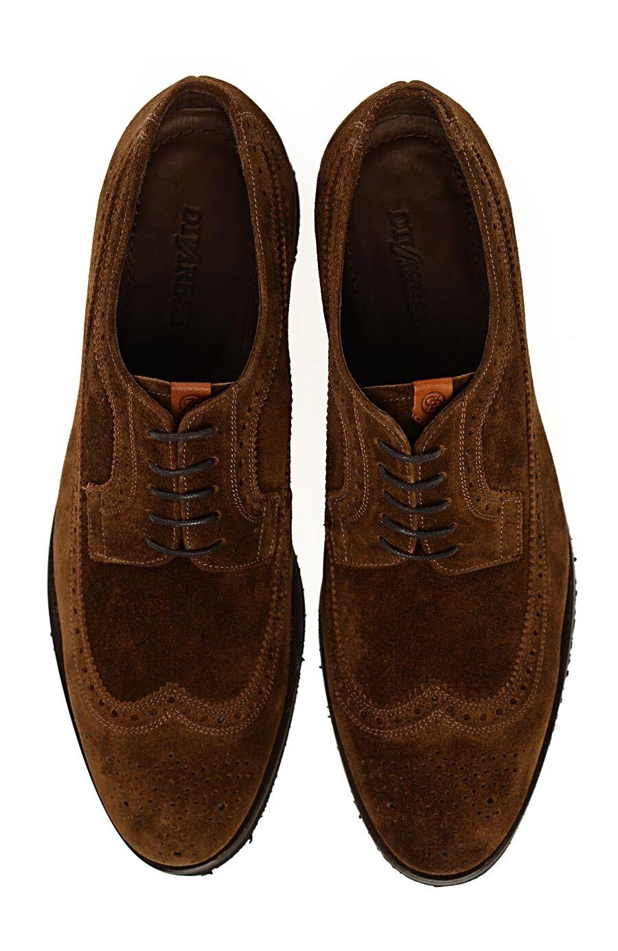 Süet Deri Brogue Ayakkabı