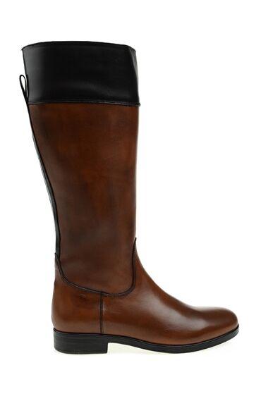 Kahverengi Deri Çizme