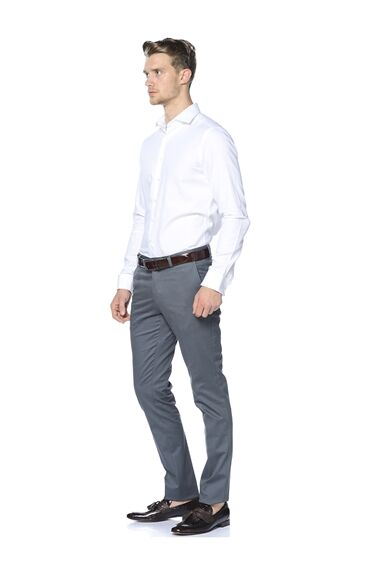 Antrasit Smart Casual Pantolon